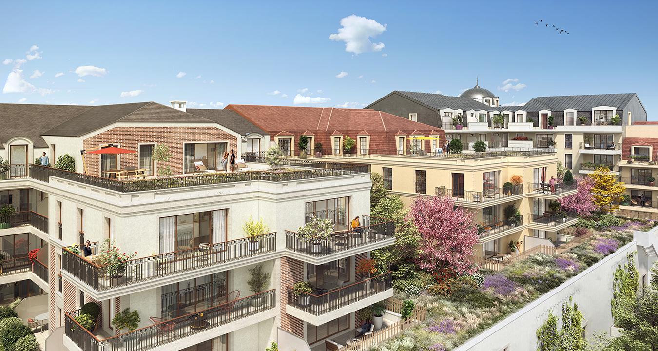 Projet Champigny sur Marne vue ilôt